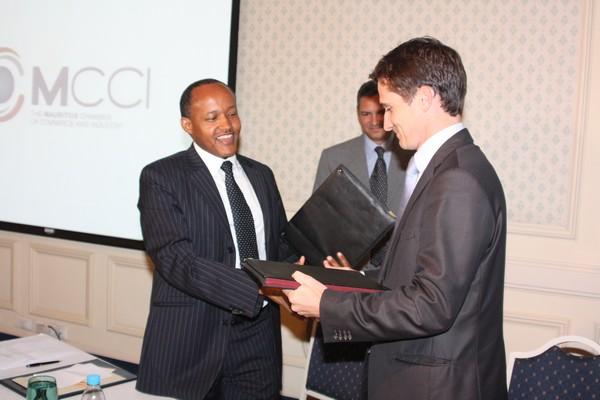 Rwanda ile maurice un partenariat dans le secteur du for Chambre de commerce ile maurice