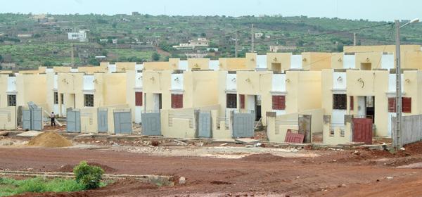 Mali construction de nouveaux logements sociaux for Construire une maison au mali
