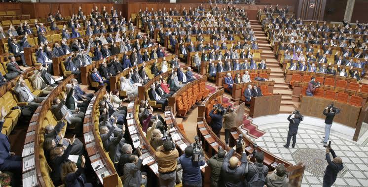Vote de confiance des députés au nouveau gouvernement — Maroc
