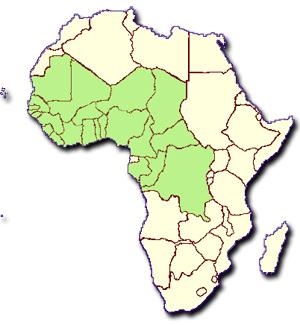 Carte Afrique Ouest Et Centre.Adapter Les Cultures Africaines Au Changement Climatique