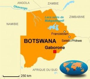 Botswana faible croissance au dernier trimestre