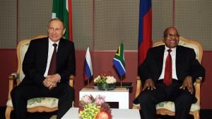 Afrique du Sud annonce d'un prochain investissement russe