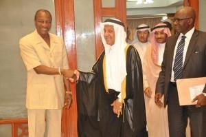 Guinée le Fonds Saoudien de Développement rassure