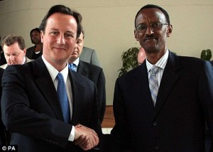 Rwanda redirection de l'aide budgétaire anglaise