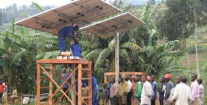 Panneaux solaires la Chine éclaire le Sénégal