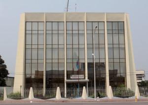 Siège du ministère des Finances à Kinshasa. Radio Okapi/ Ph. John Bompengo