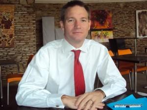 Neil Wigan, ambassadeur de la Grande Bretagne en RDC