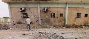batiment-endommage-d-un-camp-d-une-brigade-islamiste
