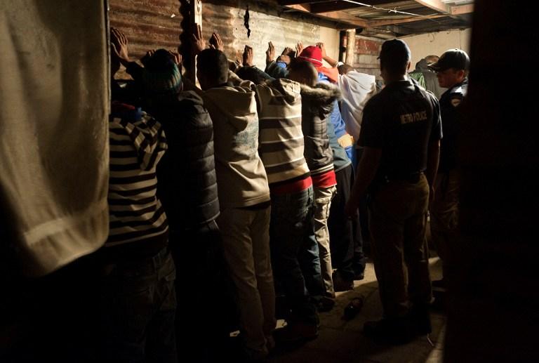 SAFRICA-CRIME-GANGS