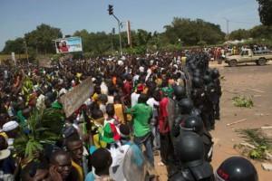 TENSIONS AU BURKINA FASO