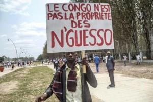 nguesso-manif