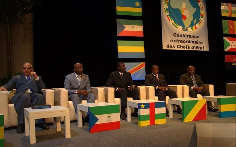Ouverture du sommet des chefs d'Etat de la CEEAC — Gabon