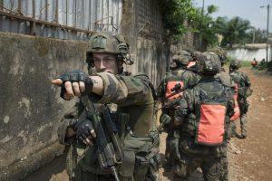 soldats Centrafrique